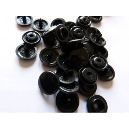 Pressions KAM Taille 24 noir (15 mm)