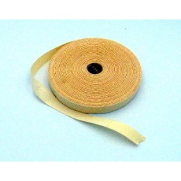 Cream twill cotton ribbon 19,5 mm wide