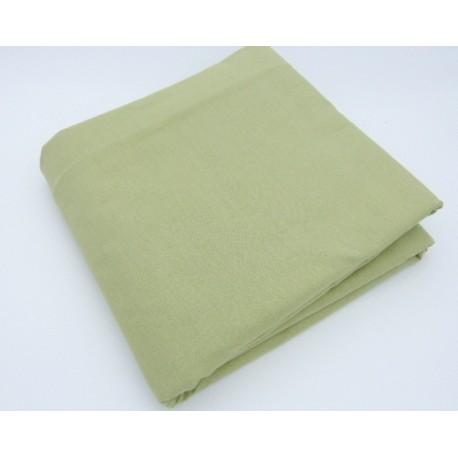 Cream organic cotton fitted sheet