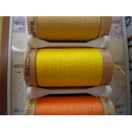 Organic cotton thread Color: Yellow