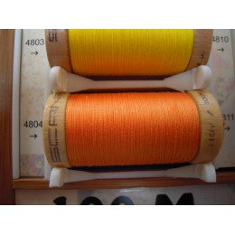 Organic cotton thread Color: Apricot