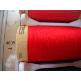 Organic cotton thread Color: red