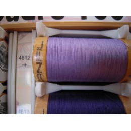 Organic cotton thread Color: mauve