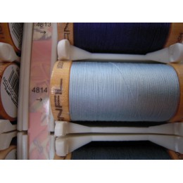 Organic cotton thread Color: sky blue