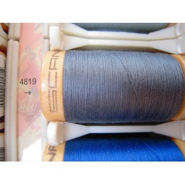 Organic cotton thread Color : dark blue gray