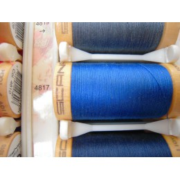 Organic cotton thread Color: royal blue