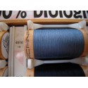 Organic cotton thread Color: Light blue gray