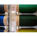 Organic cotton thread Color: dark green