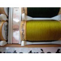 Organic cotton thread Color: olive green