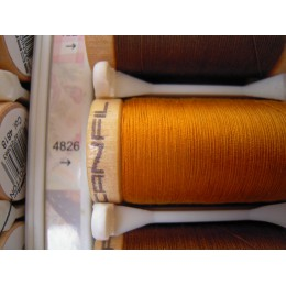 Organic cotton thread Color: mustard