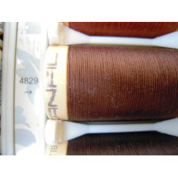 Organic cotton thread Color: chocolate