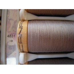 Organic cotton thread Color: light grey