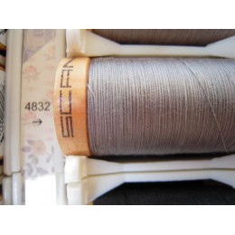 Organic cotton thread Color: silver grey