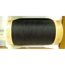 Organic cotton thread Color: black