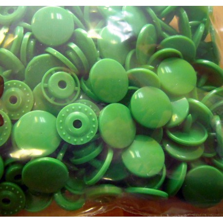 Kam snaps - size 20 bright green
