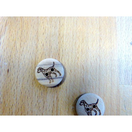 Buttons of coconut 18 mm