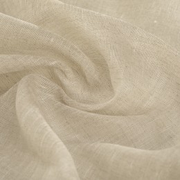 Lightweight flax veil Natural color