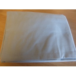 Fitted sheet 100% organic cotton sky blue