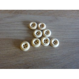 Buttons of wood 4 holes 15 mm