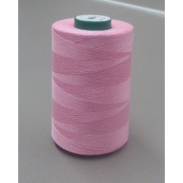 Organic cotton cone thread 5000 m baby pink
