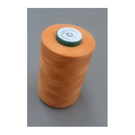 Apricot organic cotton thread cone 5000 m