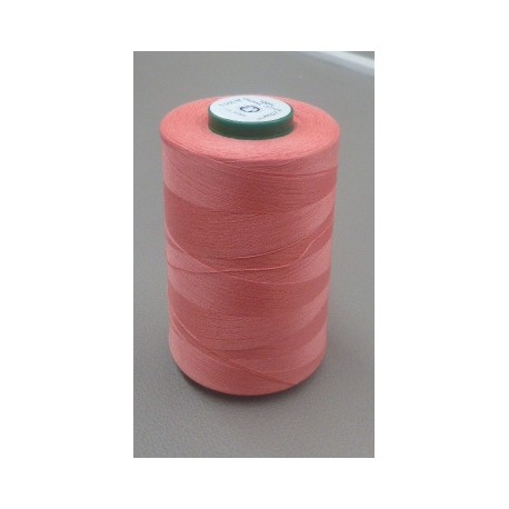 Salmon organic cotton thread cone 5000 m