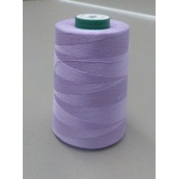 Lavender organic cotton thread cone 5000 m