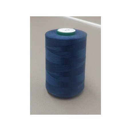 medium blue organic cotton thread cone