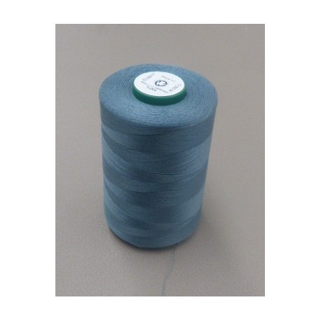 Dark grey blue organic cotton thread cone
