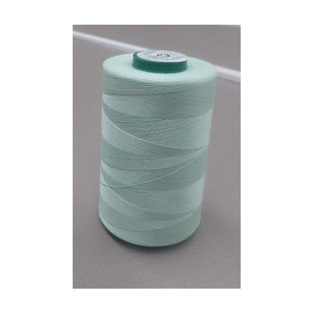 Sweet green organic cotton thread cone