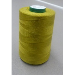 Olive green organic cotton thread cone 5000 m