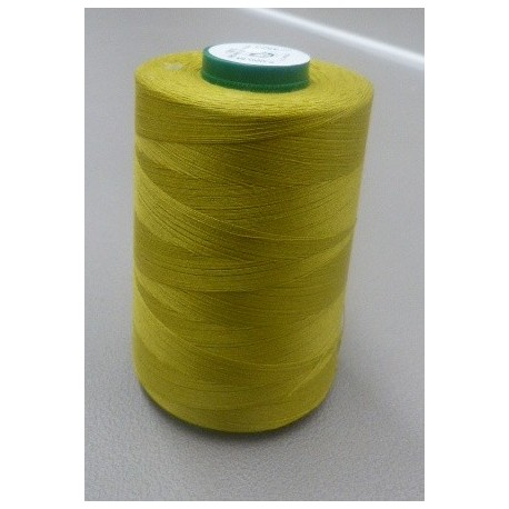 Olive green organic cotton thread cone