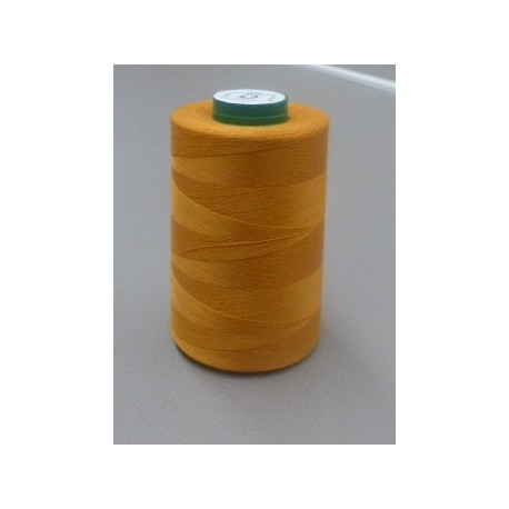 Custard organic cotton thread cone 5000 m