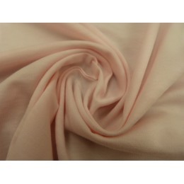Powder pink organic cotton jersey
