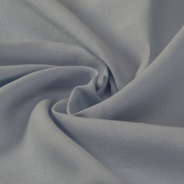 Sky blue lightweight woven organic linen - Sample