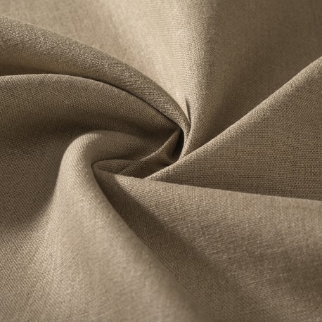 ORGANIC FLAX : Natural color heavyweight linen GOTS certified