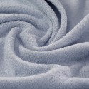 Sky blue french terry 100% organic cotton Gots certified - sample
