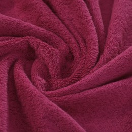 Raspberry pink French terry 100% organic cotton Gots certified