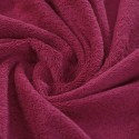 Raspberry pink French terry 100% organic cotton - sample