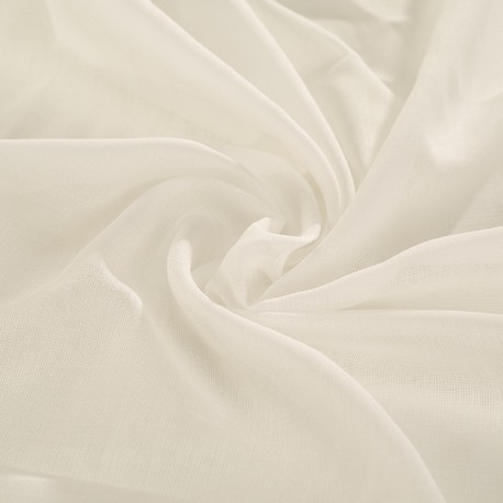 White veil 100% organic cotton