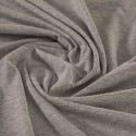 Grey marl organic cotton jersey - Sample