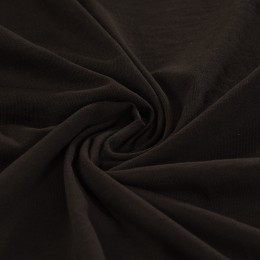 Black organic cotton jersey