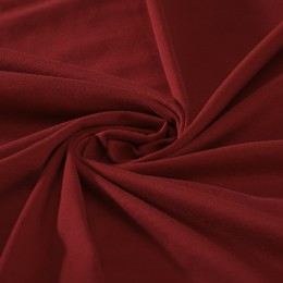 Cherry red organic cotton jersey - Sample