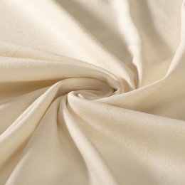 Natural color interlock 100% organic cotton - sample