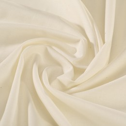 Cream organic cotton veil - Sample