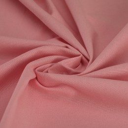 Baby pink combed poplin 100% organic cotton - Sample
