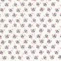 Osaka print organic cotton white poplin - Sample