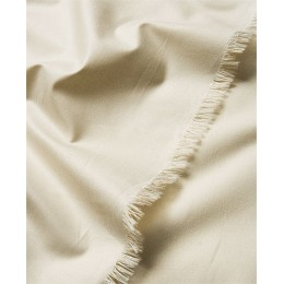 White organic cotton percale wide width - Sample