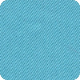 Organic cotton lightweight turquoise twill - Sample