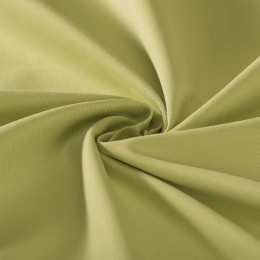Organic cotton lightweight green twill